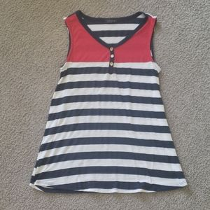 Nwot. Color block Scobe tank top size small